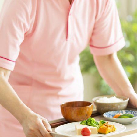 介護老人保健施設様へ食材の紹介提案
